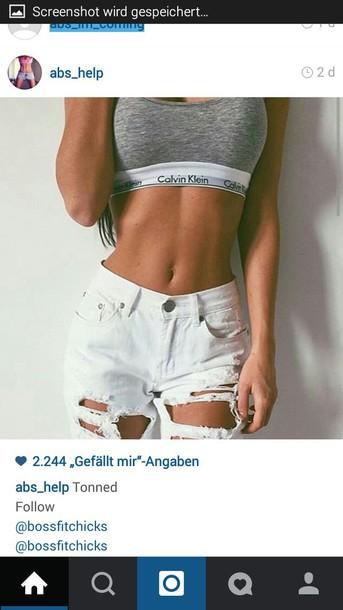 jeans white jeans destroyed boyfriend jeans underwear