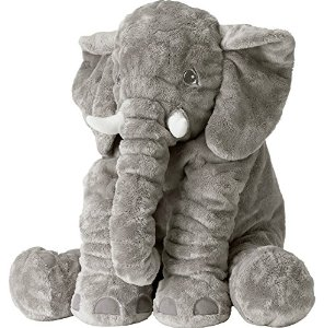 Amazon.com: ikea 202.784.45 jattestor soft toy, elephant, 23.5 inch: toys & games