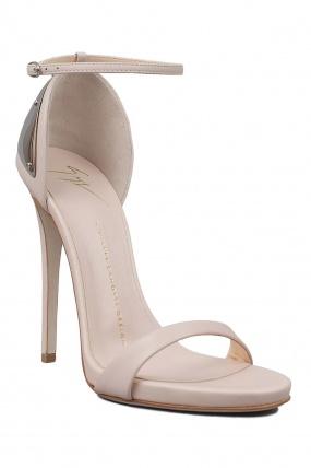 Ankle strap heels w/plate