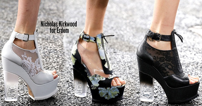 London Fashion Week Spring 2014 Shoes