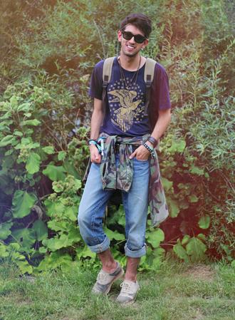 bobby raffin t-shirt jeans