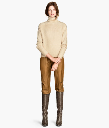 H&M Wool-blend Turtleneck Sweater $79.95