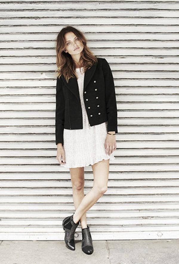 jacket lookbook fashion anine bing dress shoes
