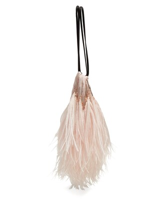 pouch light pink light pink bag
