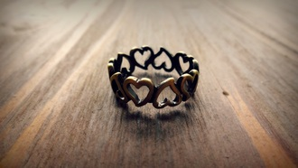 jewels heart ring heart jewelry wrap ring
