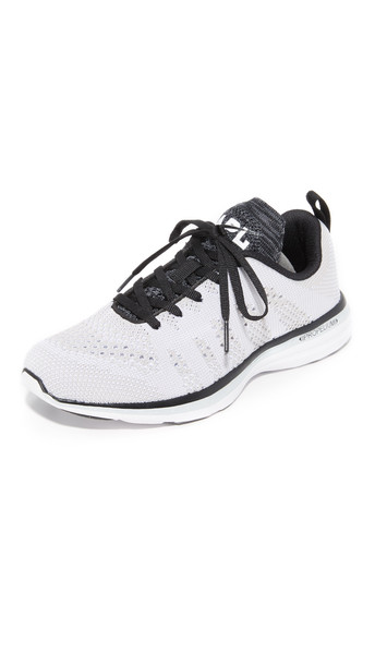 Apl: Athletic Propulsion Labs Techloom Pro Sneakers - White/Black/Cosmic Grey