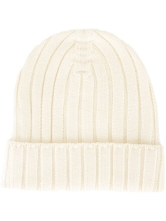 hat beanie white