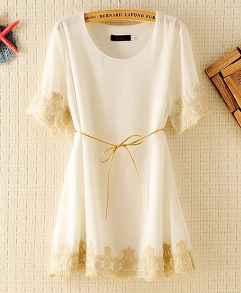 lace dress white dress