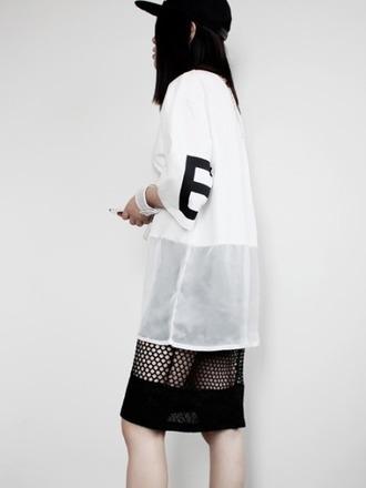 clothes streetstyle top health goth sportswear sports top skirt mesh skirt black skirt mesh top cap black cap