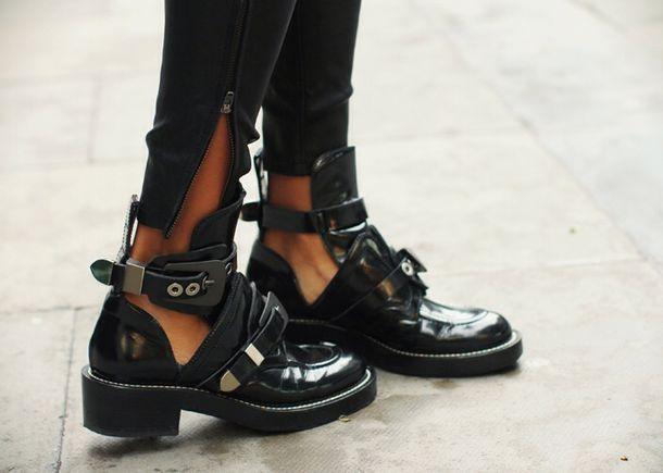 Black Nail Polish Boots - Nails Gallery