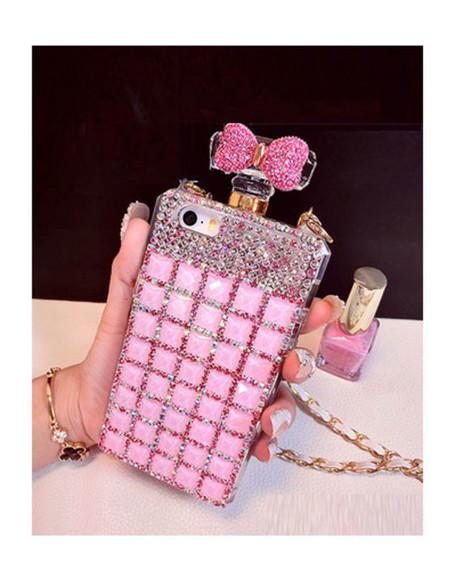 chanel phone case iphone case diamonds perfume bottle miss dior dior wow iphone 5 case rhinestones
