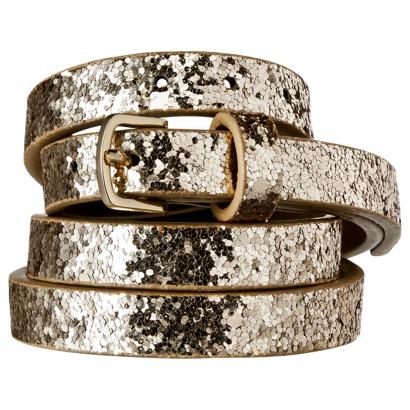 Merona® Chunky Belt - Glitter : Target