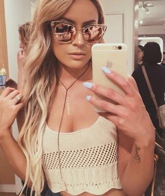 sunglasses style nice rose gold glasses
