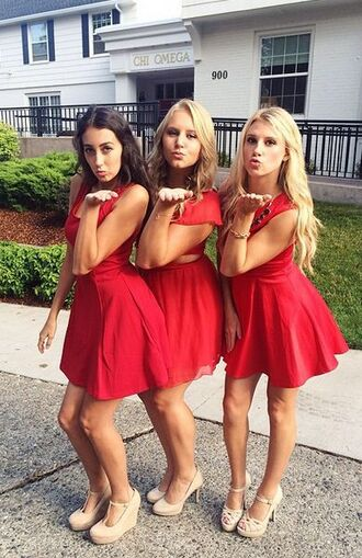 dress red dress red classy