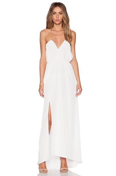 Assali dress white