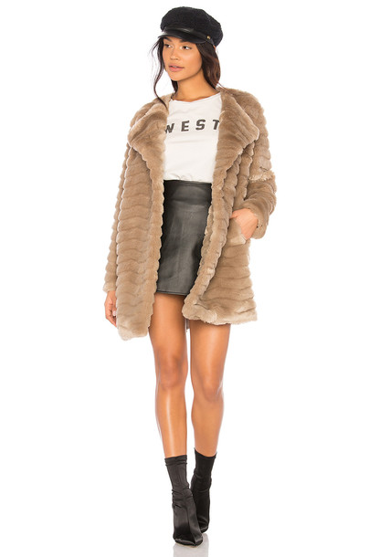coat faux fur coat fur coat fur faux fur beige