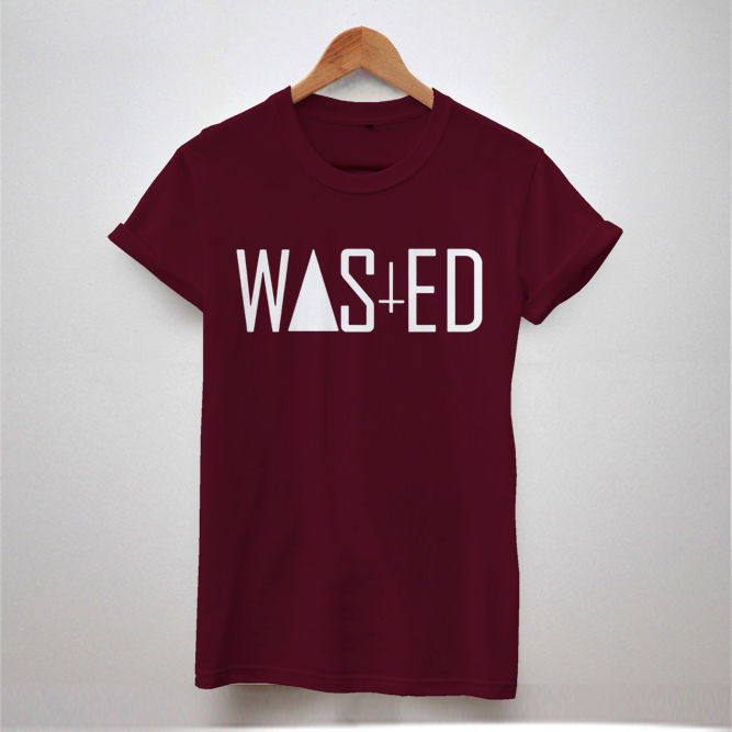 WASTED TEE DOPE YOUTH AND HYPE INDIE SWAG COKE TRIANGLE T SHIRT MEN WOMEN TOP | eBay
