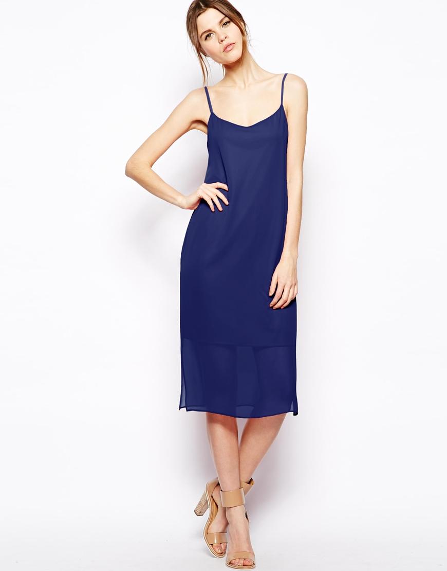 ASOS Midi Cami Dress at asos.com