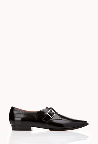 Modernist Monkstrap Shoes | FOREVER21 - 2000128502