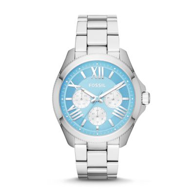 Fossil Cecile Multifunction Stainless Steel Watch AM4547 | FOSSIL®