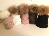 hat,designer,real fur,raccoon fur,beanie,fur beanie,fur beanie hat,fur bobble hat,fur pom pom,pom pom beanies,different shades,cozy and warm,fur x faux fur,fall tings,darlynplease,winter nights