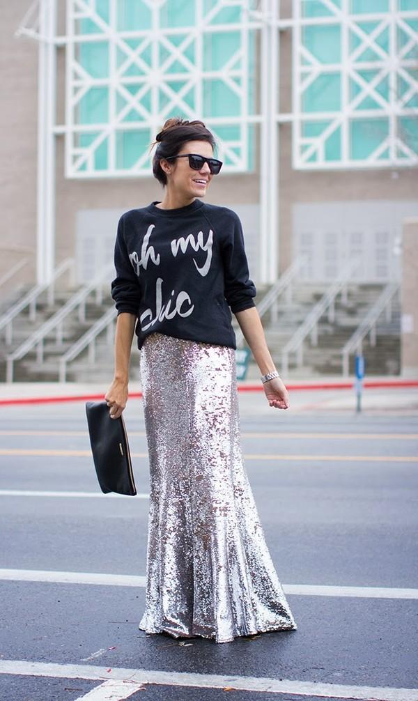 hello fashion sweater skirt shoes bag sunglasses jewels