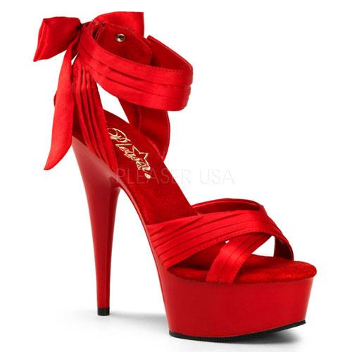 "PLEASER 6"" Heel Criss-Cross Straps Sandal DELIGHT-668, SM Boots"
