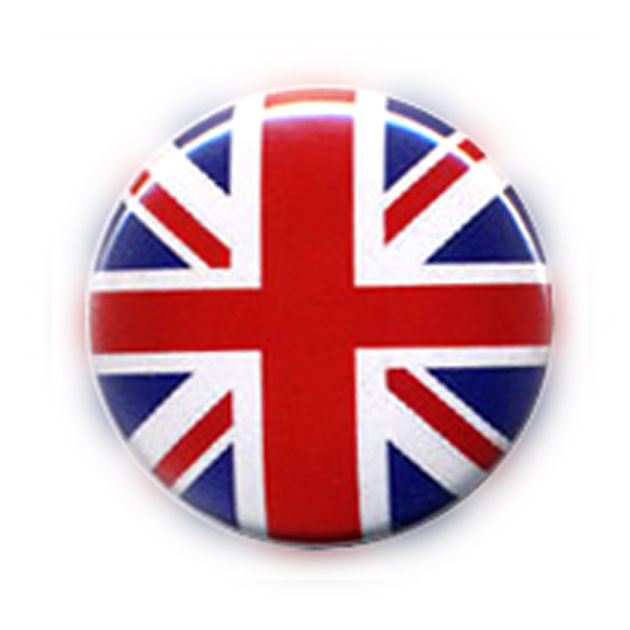 Badge Drapeau Anglais Uk Flag British Union Jack Rock Punk