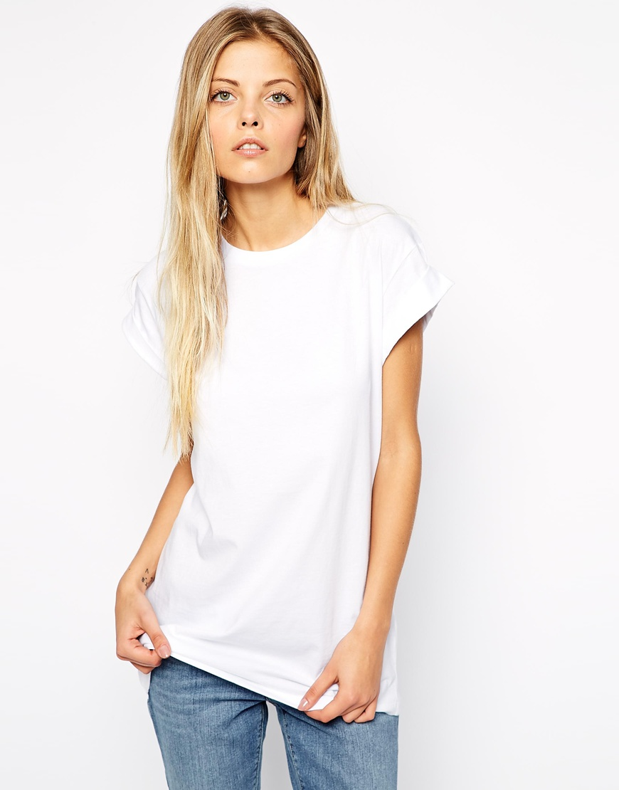 Asos the ultimate easy t shirt at for White female t shirt