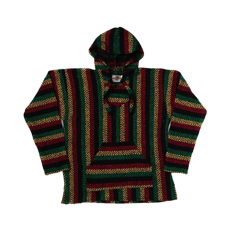 Mens Baja Rasta Poncho, Multi, at Journeys Shoes