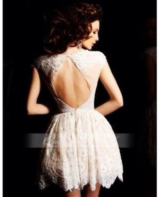 dress lace open back dress floral pattern lace dress lace dress formal dress ivory ivory lace ivory dress open back dresses classy elegant white dress on pintrest cream lace evening dress short open back oval cut out short sleeve fit and flare fashion girly stle wedding dress hipster wedding white dress homecoming dress white open back prom dress bag