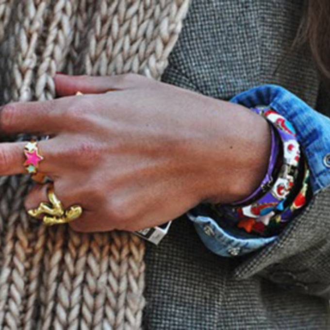 ring yellow jewels pink jewels blue jewels stars ring colorful ring ring in finger the middle