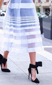 shoes,black high heels,ankle strap heels,high heels,killer heels,summer skirt,tulle skirt,skirt