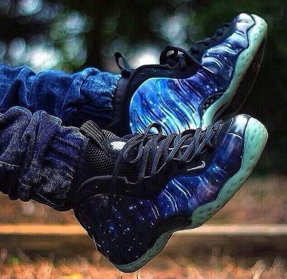 galaxy shoes foams nike sneakers