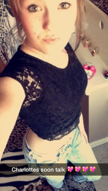 top lacy crop top primarkk