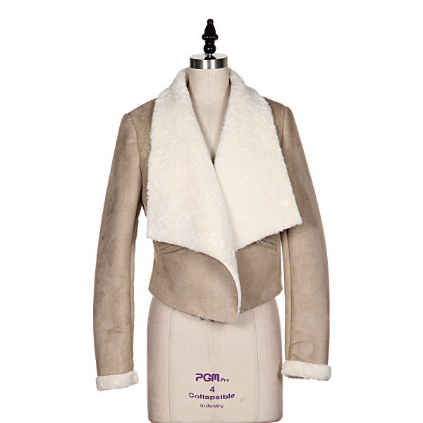 jacket dakota muse suede beige makeup table vanity row rock vogue dress to kill chic winter outfits coat