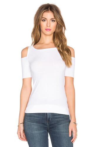 top short white