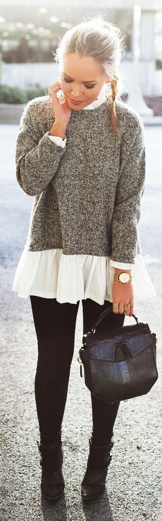 blouse cute girly pretty leggings