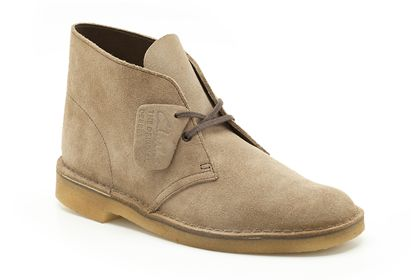 clarks desert boot gris loup bottes originals femme clarks. Black Bedroom Furniture Sets. Home Design Ideas