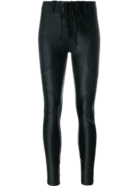 yeezy pants women spandex football black