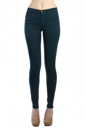 LoveMelrose.com From Harry & Molly | 5POCKET SKINNY JEANS-BLUE-FOREST - DENIM PANTS - BOTTOMS