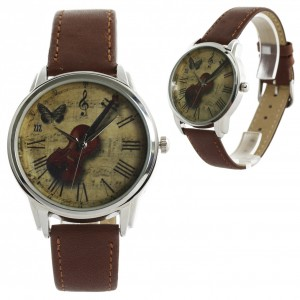 Beautiful vintage face violin watch | ZIZ iz TIME