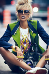 jacket,clothes,jewels,dope,trill,swag,shirt,sunglasses,green,hoodie,sweatshirt,multi color jacket