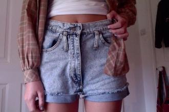 shorts gray shorts white too american apparel short