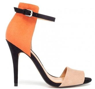 shoes zara shoes orange shoes