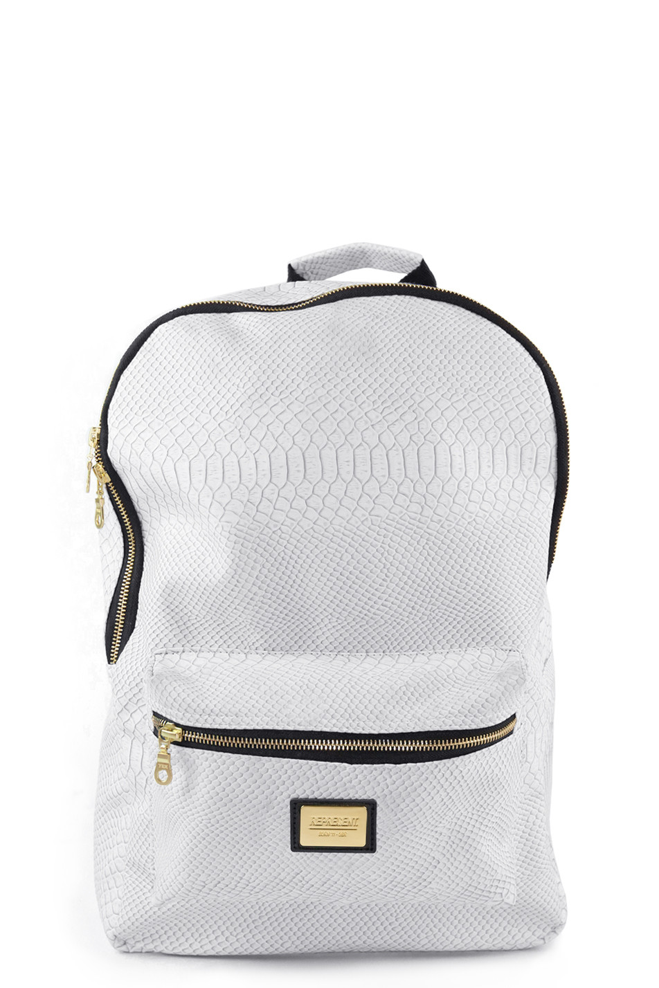 off white python backpack represent clo. Black Bedroom Furniture Sets. Home Design Ideas