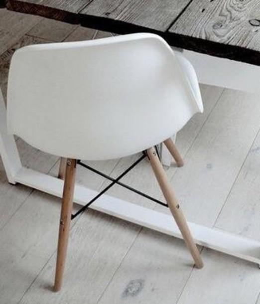 home accessory white chair cute tumblr home decor