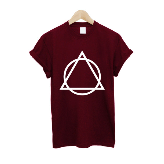 Triangle Circle T Shirt £10   Free UK Delivery - #TeeIsland