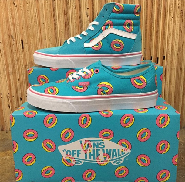 shoes vans donut of future
