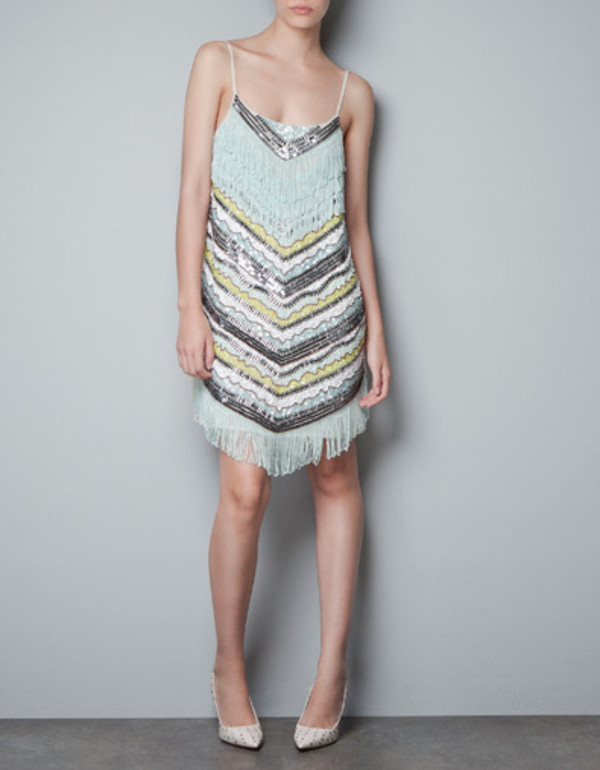 Gorgeous Zara Sequined Beaded
